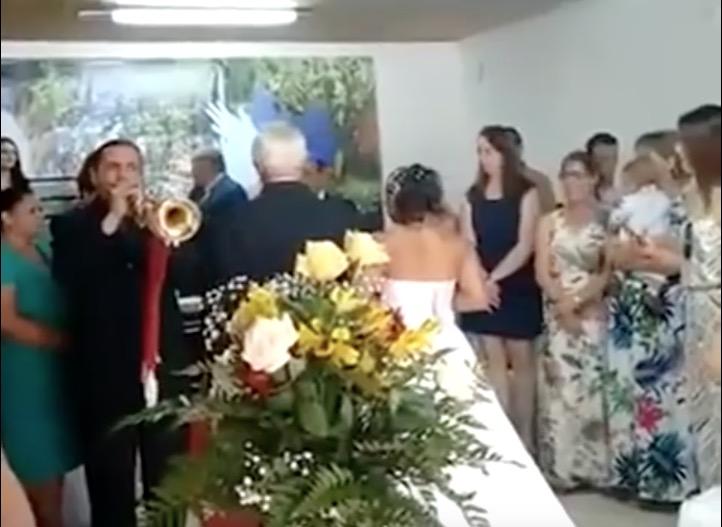 Hochzeit Trompeter