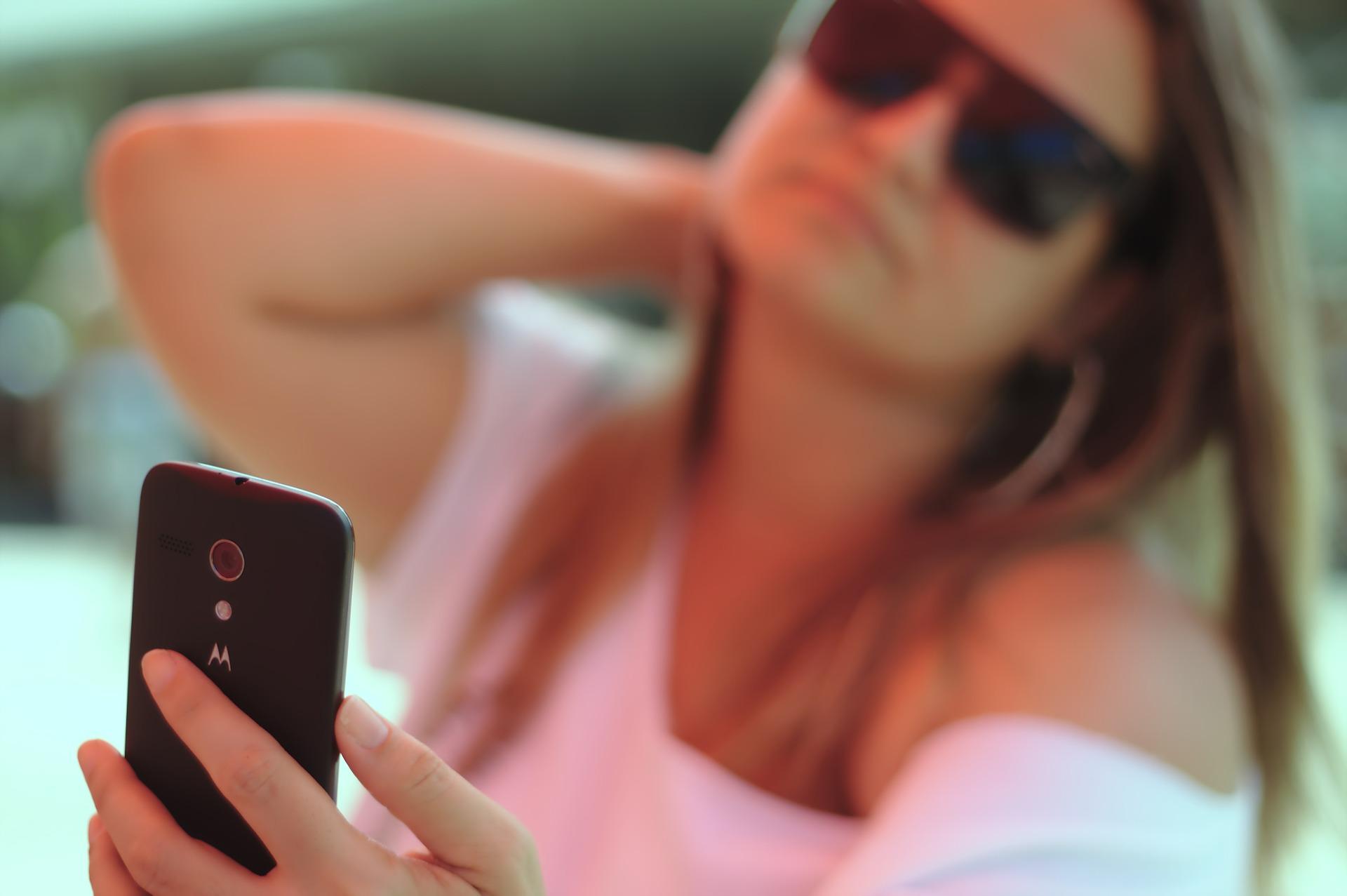 Dating Selfi von einer Frau