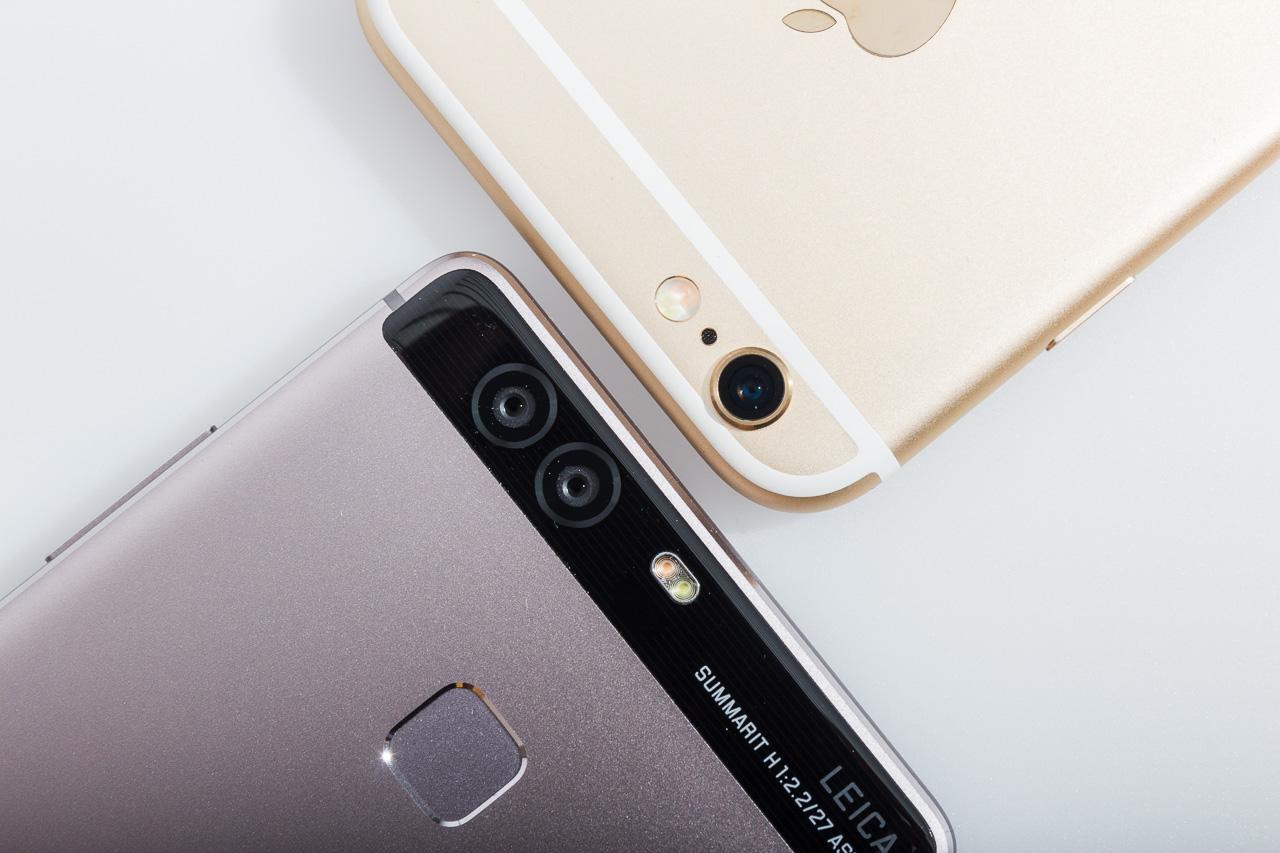 Huawei P9 versus iPhone 6S