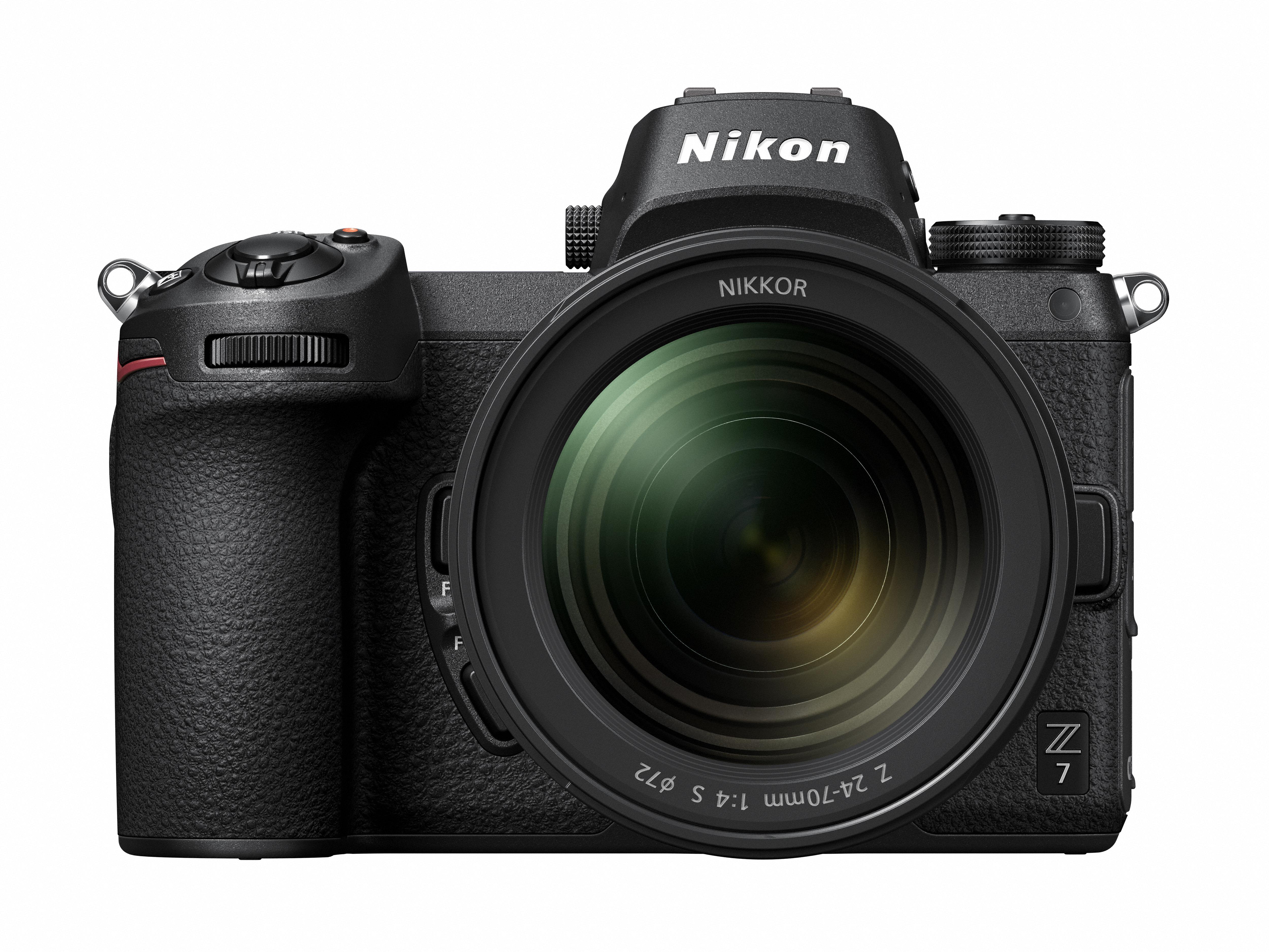 Abbildung Nikon Z7 von vorne