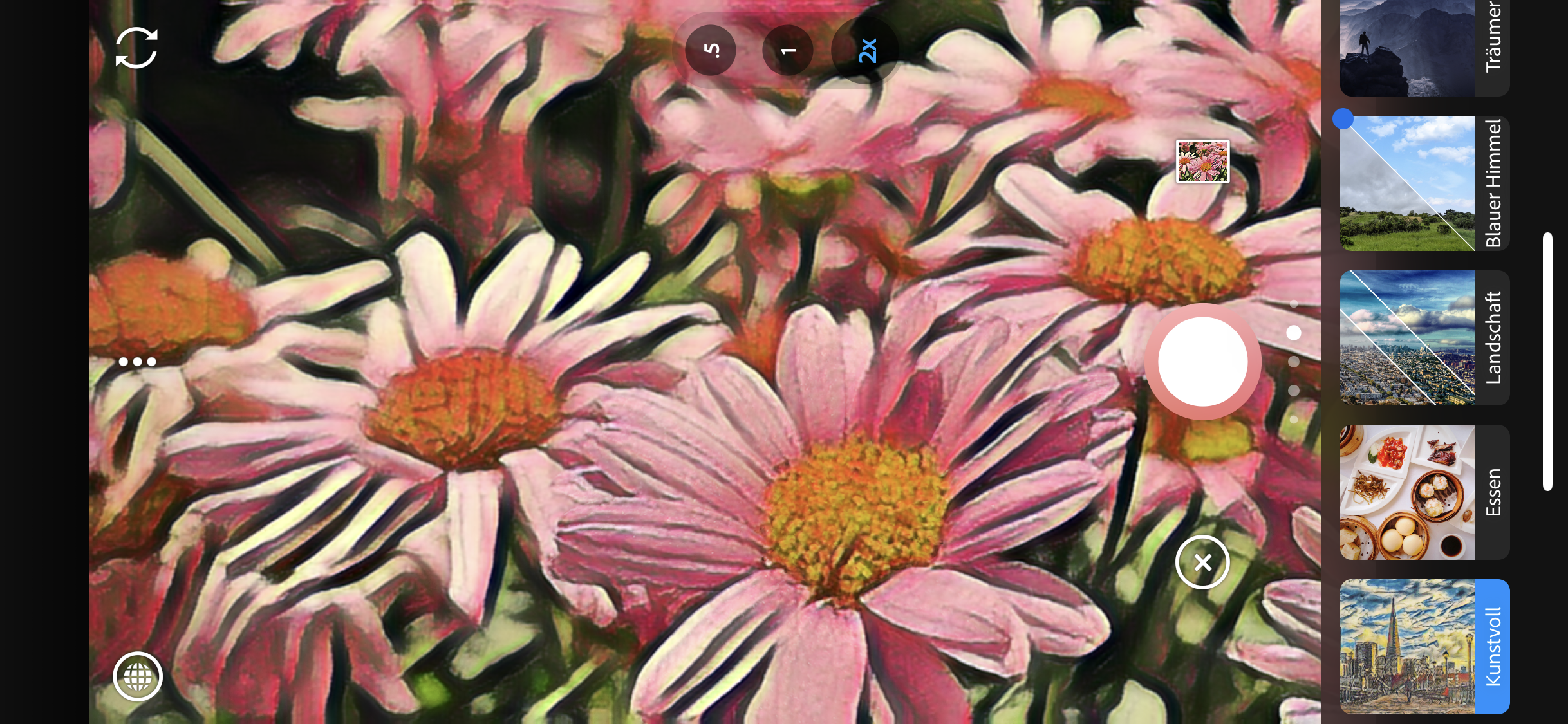 iPhone und Android: Adobe Photoshop Camera zaubert mit künstlicher Intelligenz atemberaubende Bildeffekte