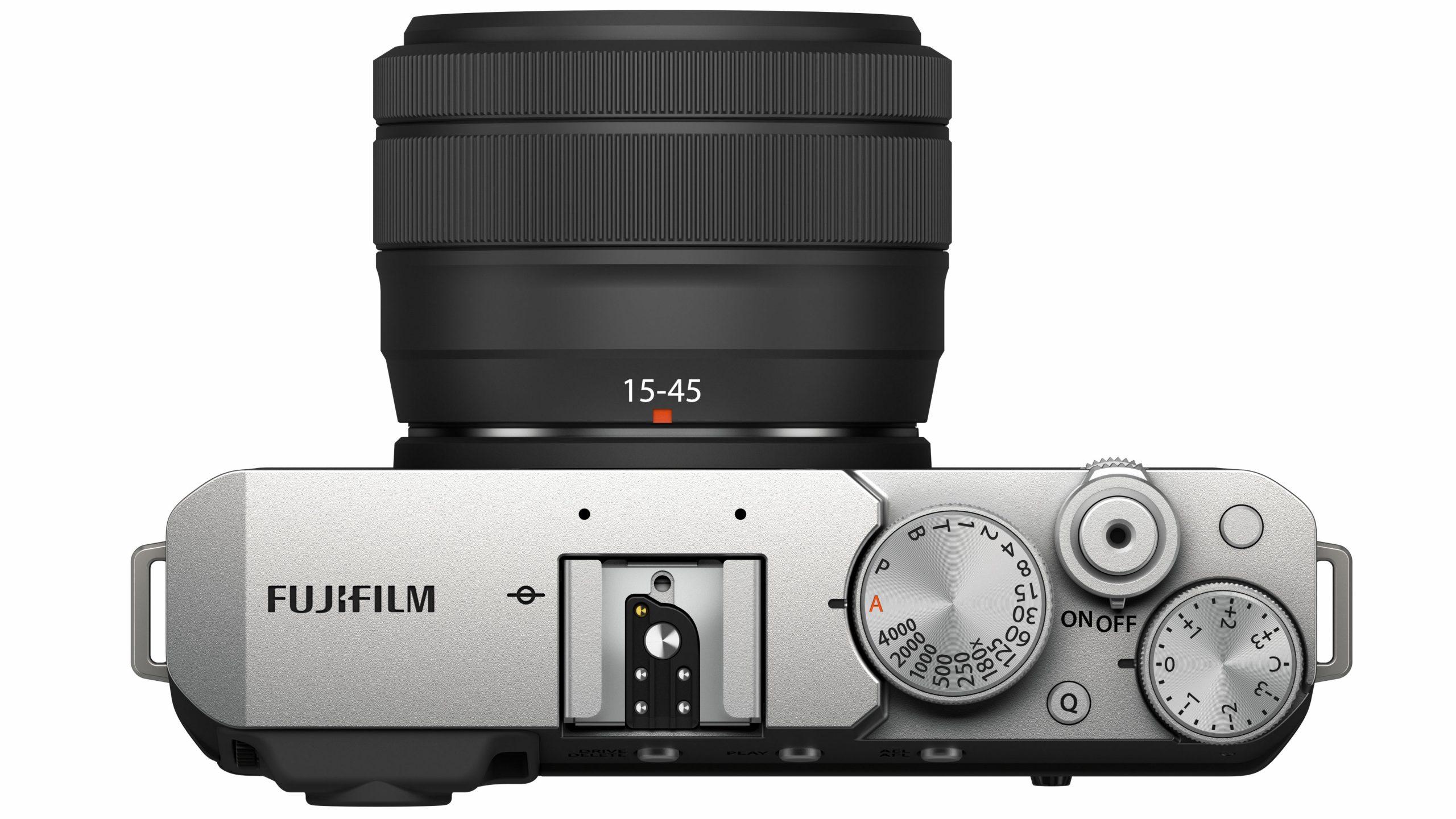 Fujifilm X-E4 von oben