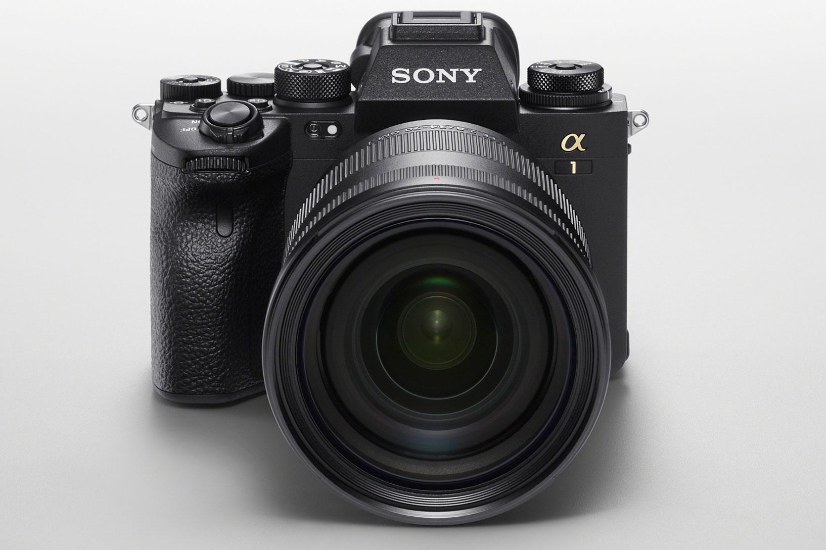 Sony Alpha 1 Kamera Frontansicht