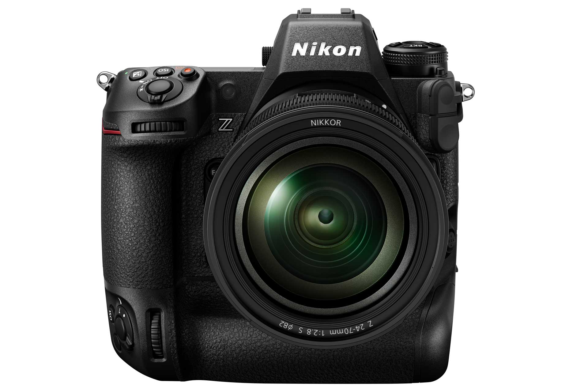Nikon Z9 in der Forntansicht