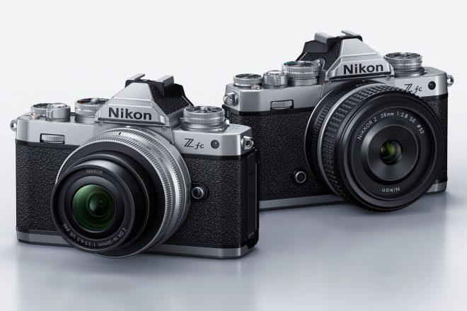Aufmacher Nikon Z fc spiegellose systemkamera im retro-look